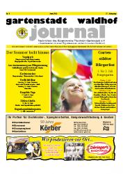Gartenstadt Waldhof Journal Juni 2011