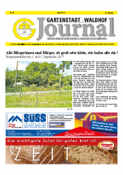 Gartenstadt-Waldhof Journal 08 2017
