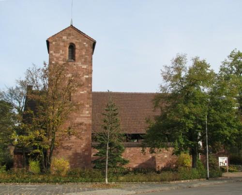 Mannheim-Gartenstadt-Gnadenkirche