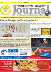Gartenstadt-Waldhof Journal 12 2017