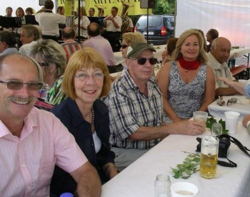 Zöllner beim Straßenfest in 2010