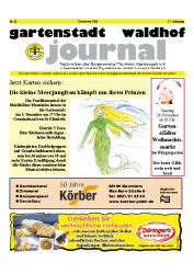 Gartenstadt Waldhof Journal 11/2011