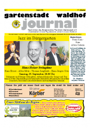 Gartenstadt Waldhof Journal 08/2011