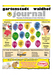Gartenstadt Waldhof Journal Juli 2011
