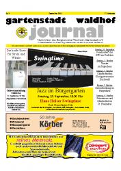 Gartenstadt Waldhof Journal 09/2011