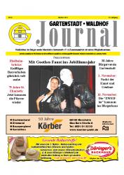 Gartenstadt Waldhof Journal Oktober 2012