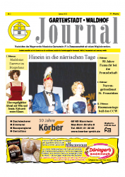 Gartenstadt-Waldhof Journal 01 2013