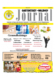 Gartenstadt-Waldhof Journal 02 2013