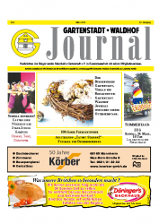 Gartenstadt-Waldhof Journal 03 2013
