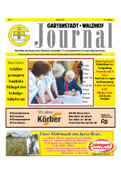 Gartenstadt-Waldhof Journal 08 2013