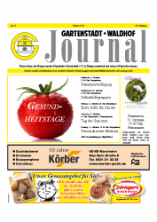 Gartenstadt-Waldhof Journal 10 2013
