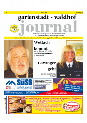 Gartenstadt-Waldhof Journal 01 2014