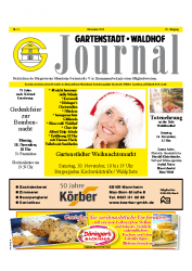 Gartenstadt-Waldhof Journal 11 2013