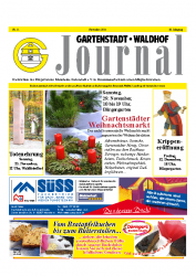 Gartenstadt-Waldhof Journal 11 2014