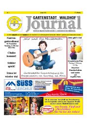 Gartenstadt-Waldhof Journal 01 2015