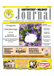 Gartenstadt-Waldhof Journal 04 2012