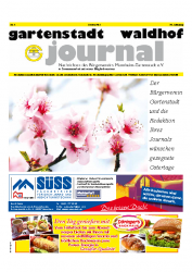 Gartenstadt-Waldhof Journal 04 2014