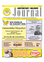 Gartenstadt-Waldhof Journal 06 2012