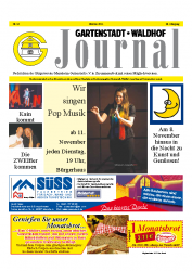Gartenstadt-Waldhof Journal 10 2014