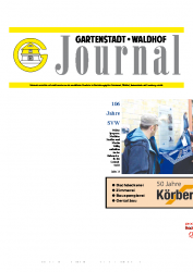 Gartenstadt-Waldhof Journal 04 2013