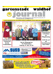 Gartenstadt-Waldhof Journal 06 2014