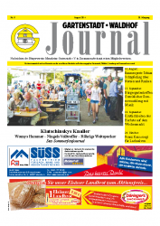 Gartenstadt-Waldhof Journal 08 2014