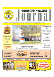 Gartenstadt-Waldhof Journal 03 2012