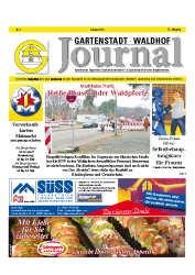 Gartenstadt-Waldhof Journal 02 2015