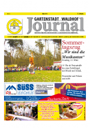 Gartenstadt-Waldhof Journal 03 2015
