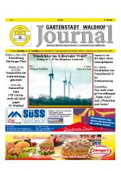 Gartenstadt-Waldhof Journal 07 2015