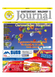 Gartenstadt-Waldhof Journal 08 2015