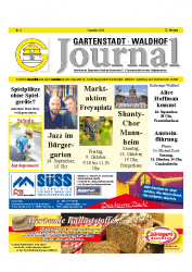Gartenstadt-Waldhof Journal 09 2015