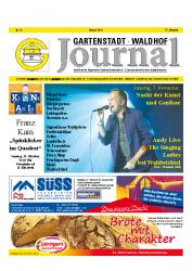 Gartenstadt-Waldhof Journal 10 2015