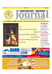 Gartenstadt-Waldhof Journal 12 2015