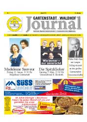 Gartenstadt-Waldhof Journal 01 2016