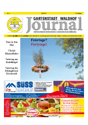 Gartenstadt-Waldhof Journal 04 2016