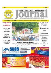 Gartenstadt-Waldhof Journal 06 2016
