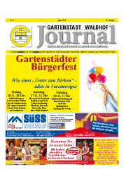 Gartenstadt-Waldhof Journal 08 2016