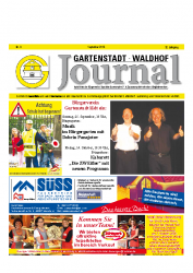 Gartenstadt-Waldhof Journal 09 2016