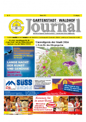 Gartenstadt-Waldhof Journal 10 2016