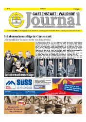 Gartenstadt-Waldhof Journal 01 2017