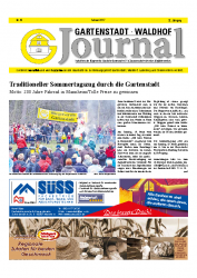 Gartenstadt-Waldhof Journal 02 2017