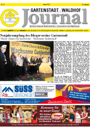 Gartenstadt-Waldhof Journal 01 2018