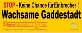 Wachsame Gaddestadt