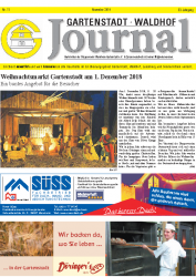 Gartenstadt-Waldhof Journal 11 2018