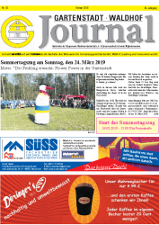Gartenstadt-Waldhof Journal 02 2019