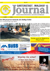Gartenstadt-Waldhof Journal 03 2019