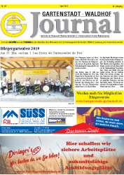 Gartenstadt-Waldhof Journal 04 2019