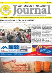 Gartenstadt Waldhof Journal Mai  2019
